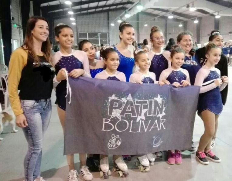 Patín: Debut oficial de Patín Bolívar