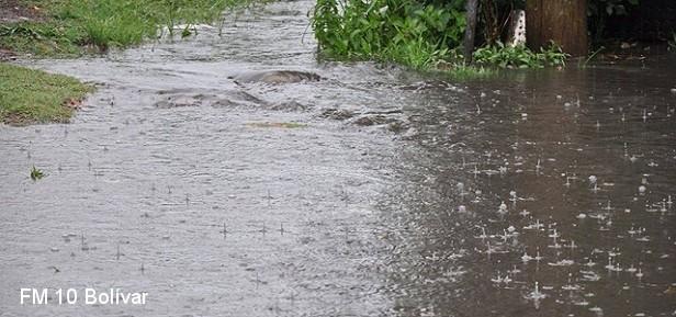 Registro de lluvias desde 5 a 45 milímetros en el partido de Bolívar