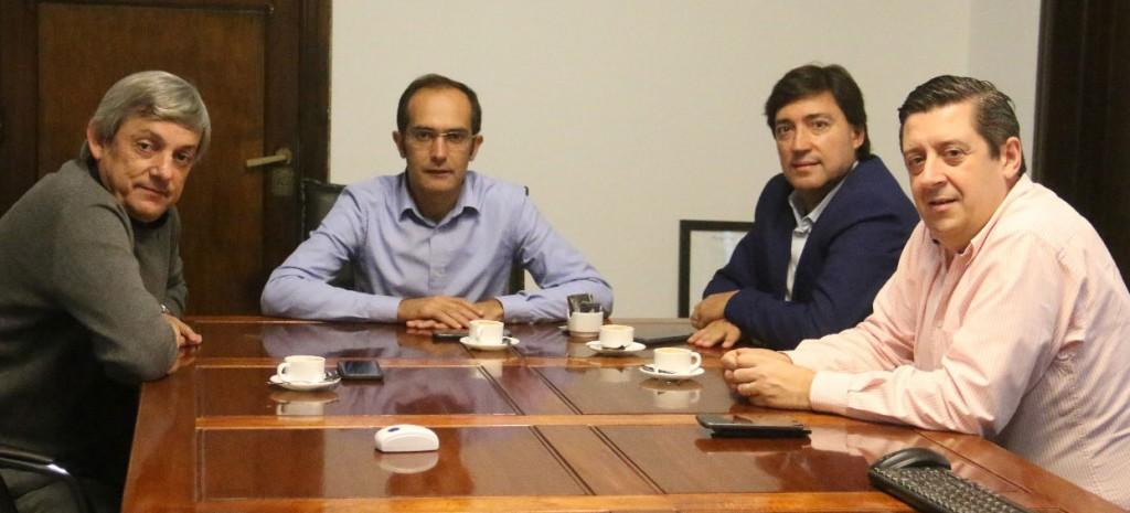 Reunión de intendentes en Bolívar