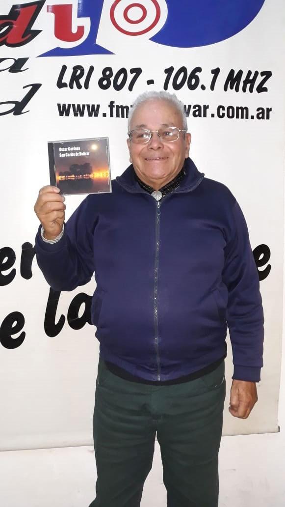 Oscar Cardoso presenta su nuevo trabajo 'Recuerdos'