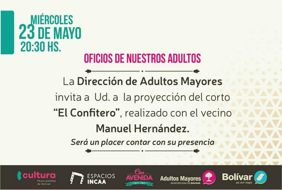 """Hoy se proyecta """"El Confitero"""", sobre Manuel Hernández"""