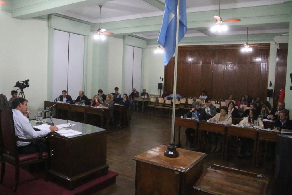 Se sesiono por 3º vez en el Honorable Consejo Deliberante