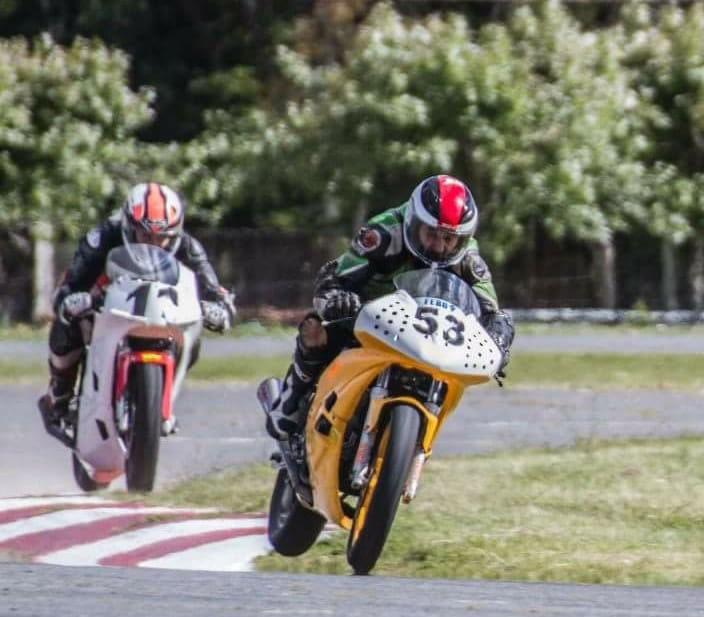 Motociclismo: Se suspendio por duelo la fecha de la Categoria Velocidad de Pista