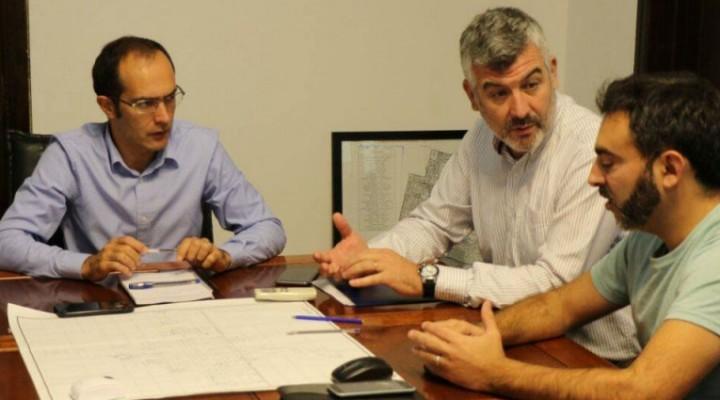 El Intendente Pisano se reunió con representantes de Camuzzi