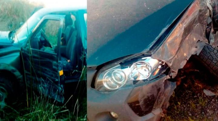 Informe de Defensa Civil: Accidente en Ruta 65, dos familias con heridas
