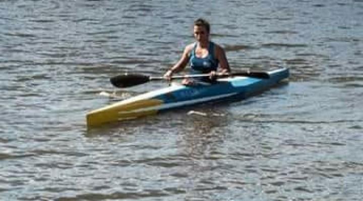 Brenda Sardón obtuvo medalla de plata en Canoa Hawaiana