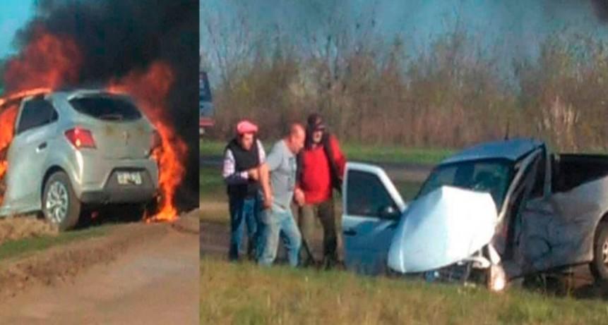 Ruta 226: Grave accidente en la bajada a Herrera Vegas, serían 4 los muertos (Audio)