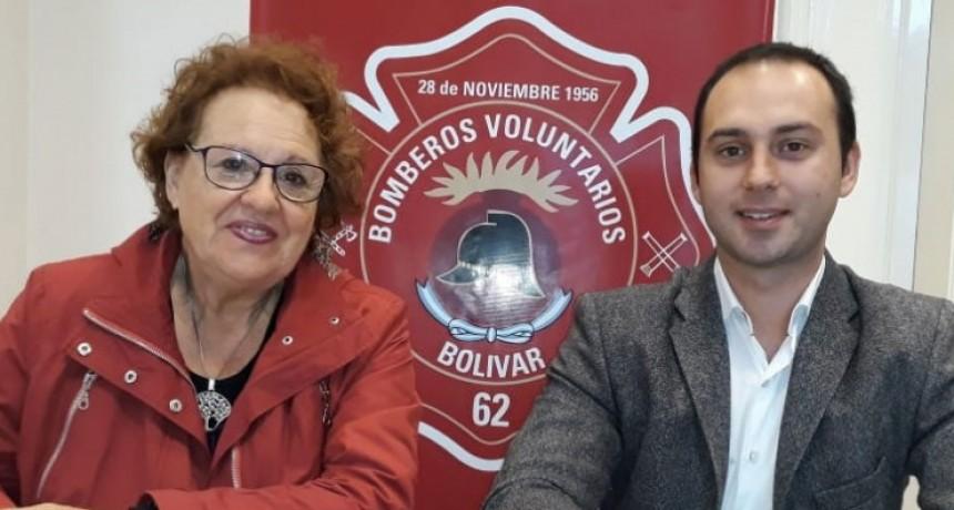 Festejos por el Día del Bombero Voluntario