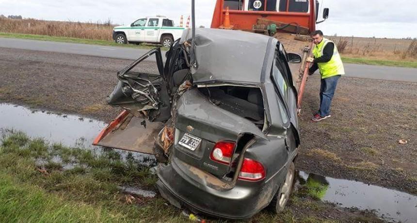 Grave accidente en la Ruta 5