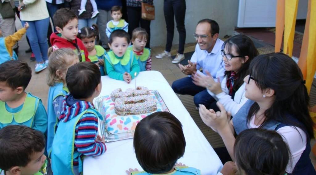 El jardín municipal 'Alicia Moreau de Justo' celebró sus 30 años junto a las familias