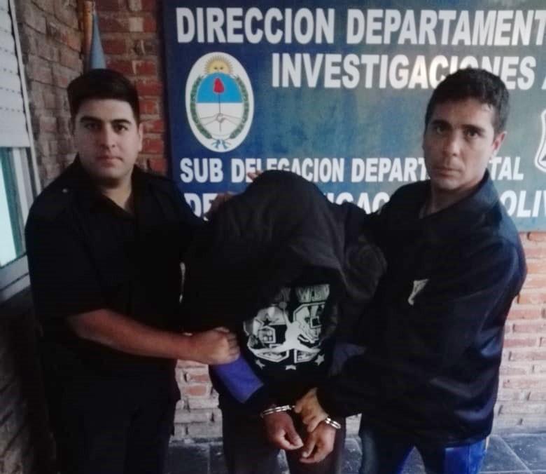 Se logró la detención de un sujeto implicado en el robo de motovehiculos en la ciudad