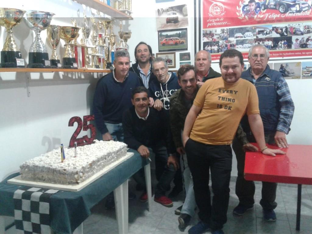 La Agrupación Bolivarense de Competición celebró 25 años de pasión