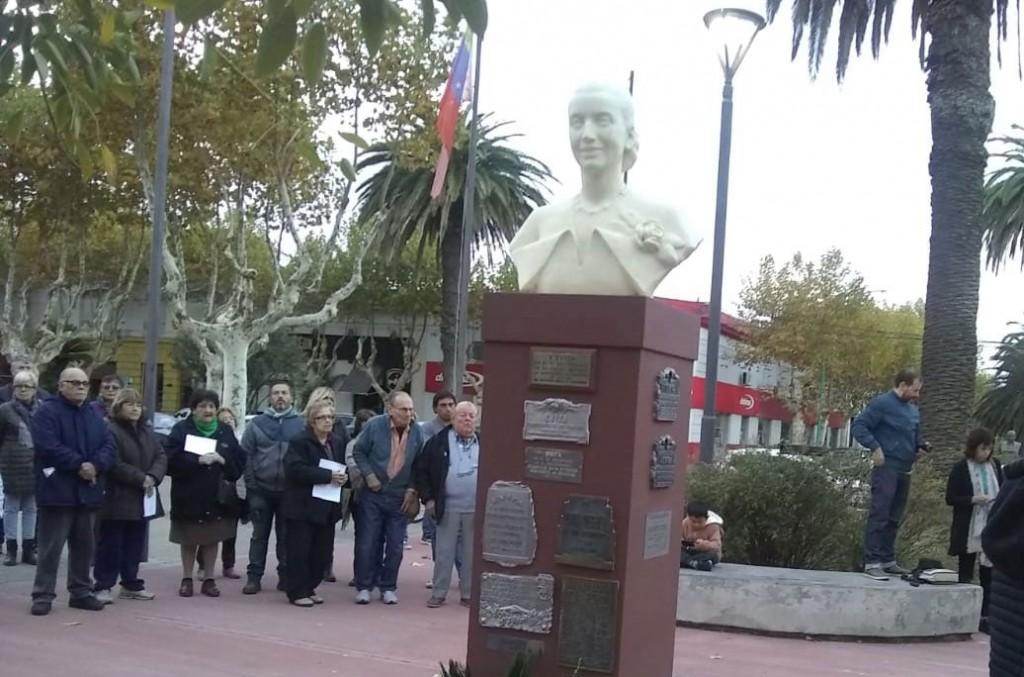 El Peronismo local recordó a 'Evita' en el 100º aniversario de su natalicio