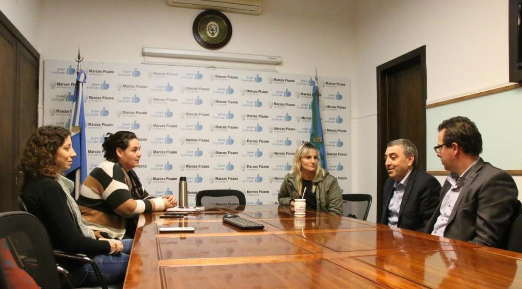 El equipo local de DDHH se reunió con autoridades del Consejo Federal
