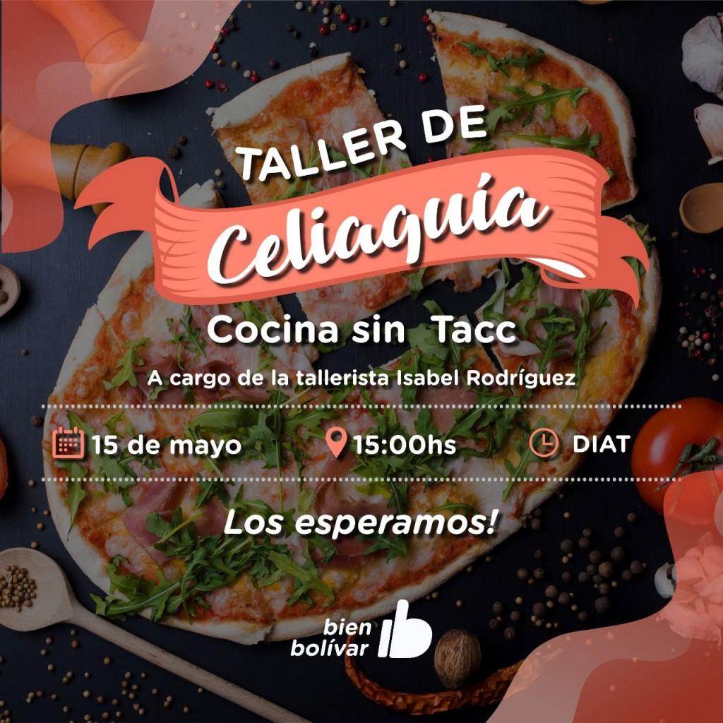 Se llevará a cabo un nuevo taller de cocina sin TACC