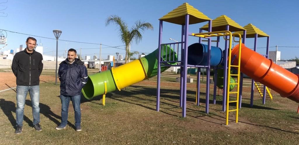 Lucas Ezcurra: 'El trabajo en los espacios público es prioritario para nosotros'