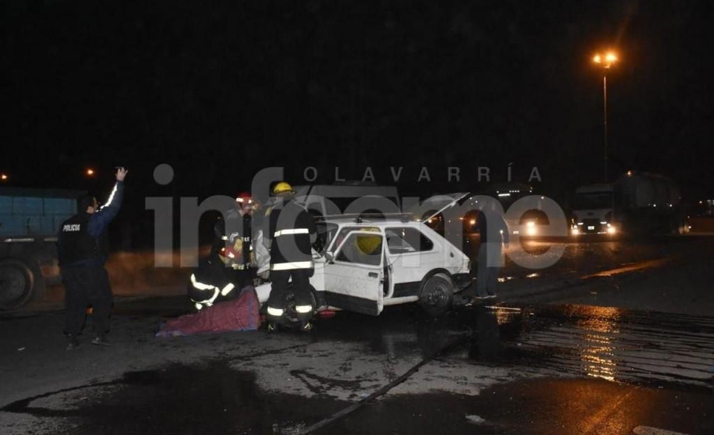 Olavarría: Trágico accidente; una persona falleció y tres resultaron heridas