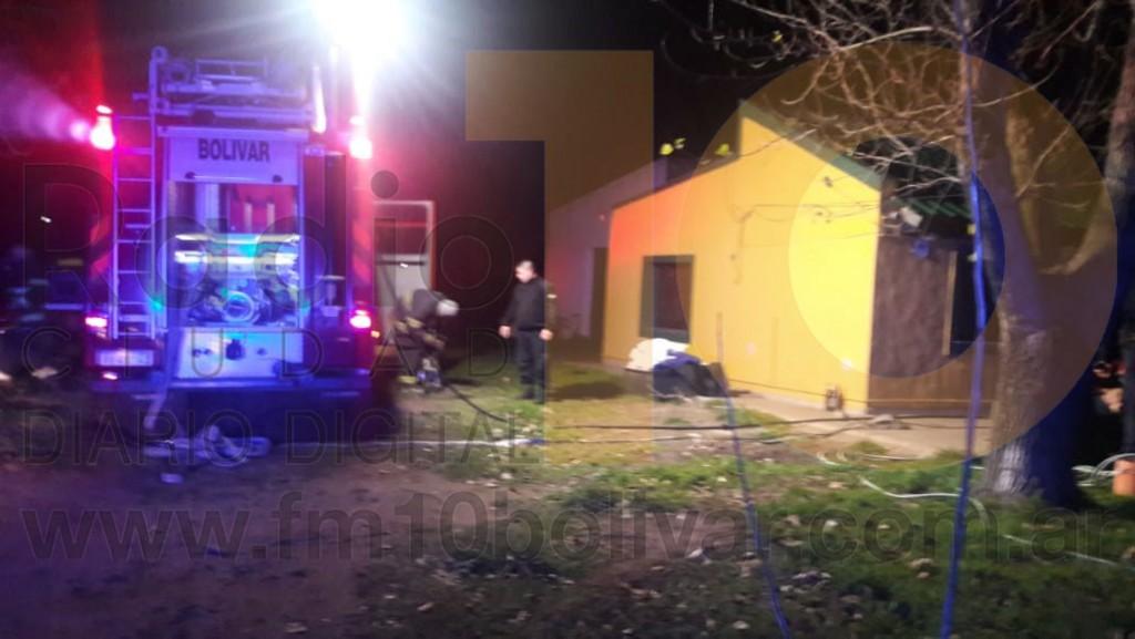 Incendio en una vivienda de Barrio Latino sin consecuencias para la familia