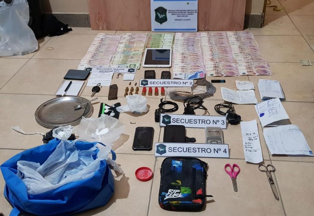 Operativo contra el narcotráfico: Múltiples allanamientos, detenciones y secuestro de estupefacientes