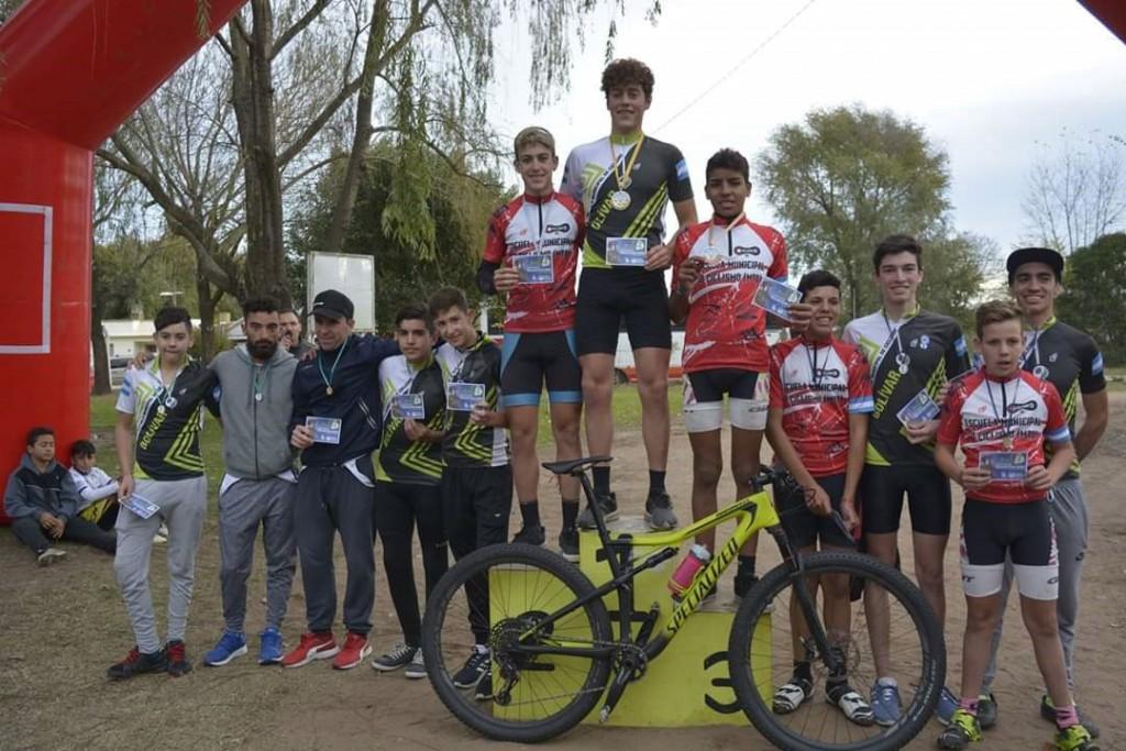 La Escuela Municipal de Ciclismo participó de una nueva fecha del MTB