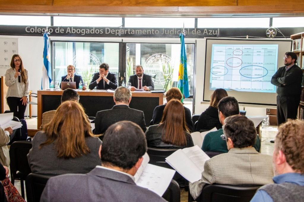 Se llevó a cabo la Asamblea General Ordinaria del Colegio de Abogados del Departamento Judicial de Azul