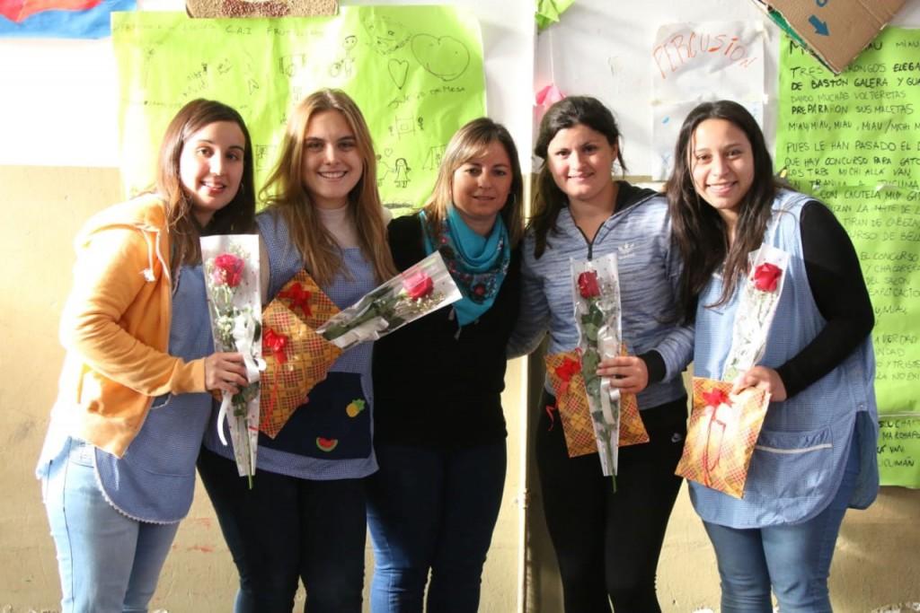 Los CAI agasajaron a las maestras jardineras en su día