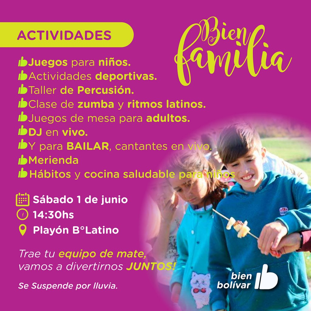 El programa municipal Bien Familia llega a Barrio Latino