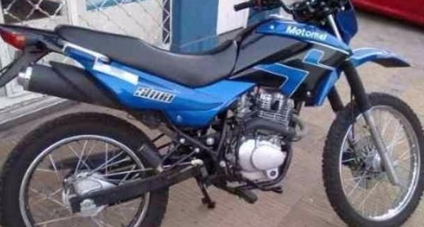 Pablo Soto: 'Me robaron la moto de adentro de mi casa'