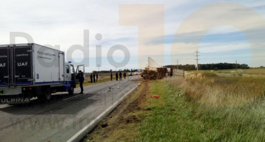 Se conocieron las identidades de las victimas fatales del accidente sucedido el 1 de mayo en Ruta 65