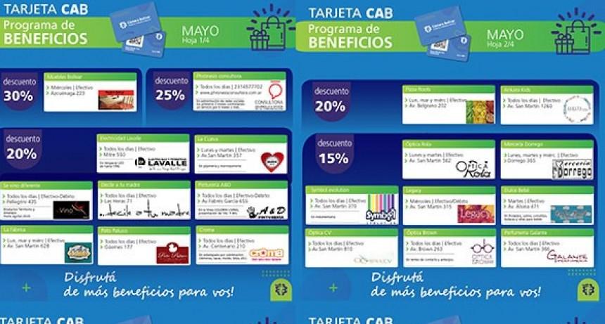Informe de la Cámara Comercial de Bolívar sobre el programa de beneficios de la tarjeta CAB