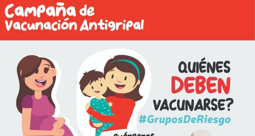 Comenzó la campaña de vacunación antigripal en el Hospital y los CAPS