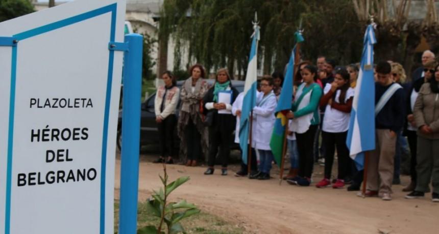 Se llevó a cabo el acto por el hundimiento del A.R.A Gral. Belgrano