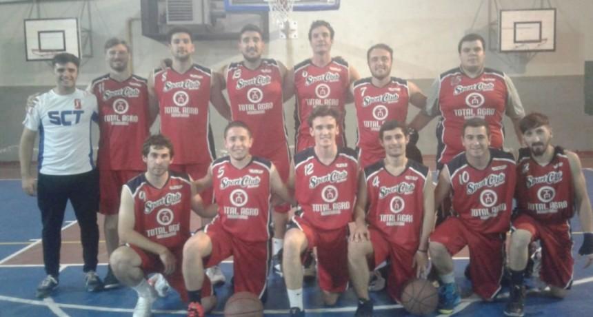 Sport Club continua dando catedra de básquet; 4 fechas jugadas, 4 ganadas, 8 puntos