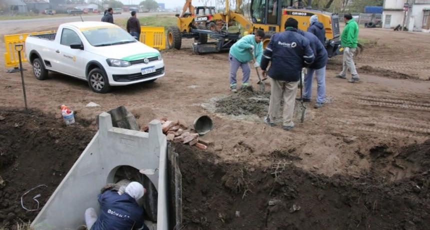 La Municipalidad ejecuta trabajos de mantenimiento en diferentes barrios de la ciudad