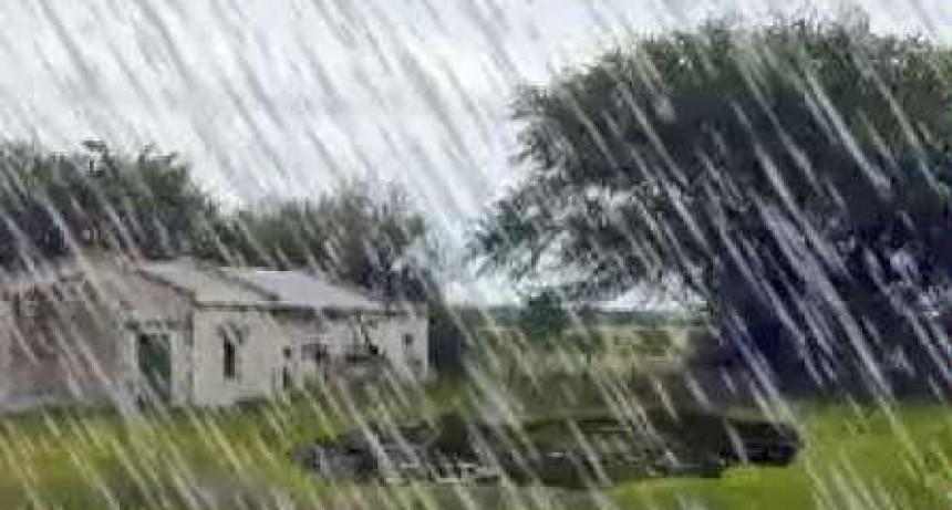 Registro de lluvia caída el pasado jueves 9; hasta 25 mm registrados