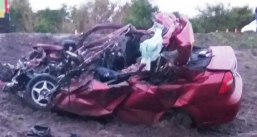 Trágico accidente en Ruta 5. Tres personas fallecidas