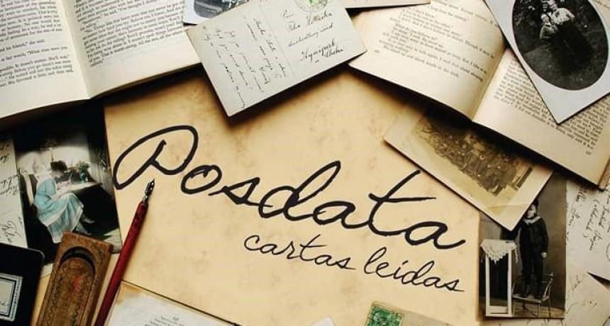 'Posdata, Cartas Leídas' en su 4º presentación llega al auditorio de la Biblioteca Alcira Cabrera