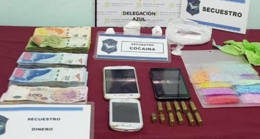 Olavarría: Aprehenden a un hombre en un allanamiento por drogas; secuestraron una gran cantidad de dinero en efectivo