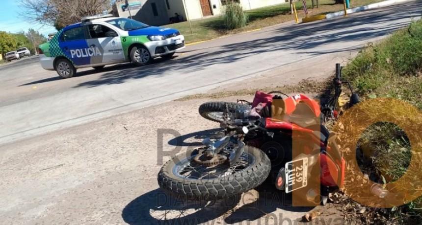 Dos jóvenes fueron trasladados al Hospital Capredoni