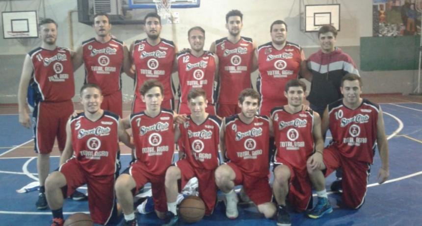 5 partidos jugados, 5 ganados, 10 puntos y clasificación para Sport Club