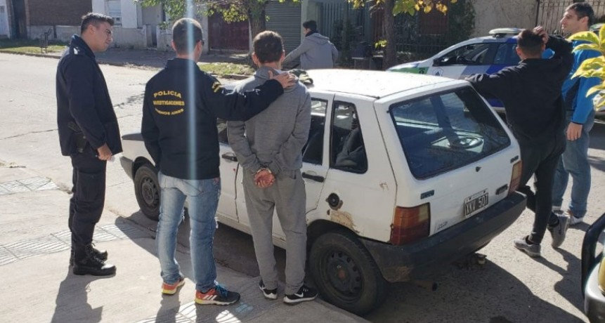 Se hizo efectiva la detención de Gauthier, involucrado en un caso de robo
