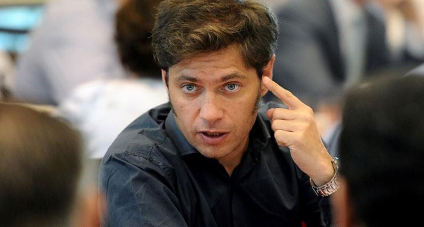 Axel Kicillof: 'Cuando llegas a una ciudad y hay un intendente Peronista, se nota'