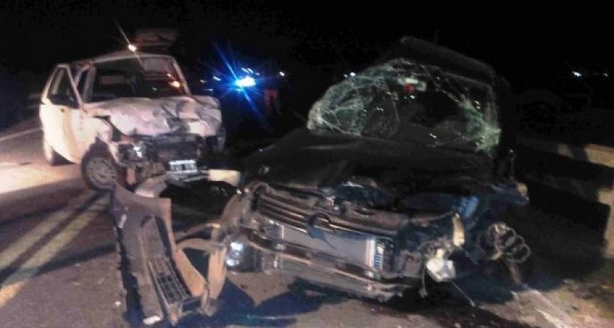 Fatal siniestro vial en Ruta 5 en partido de Mercedes
