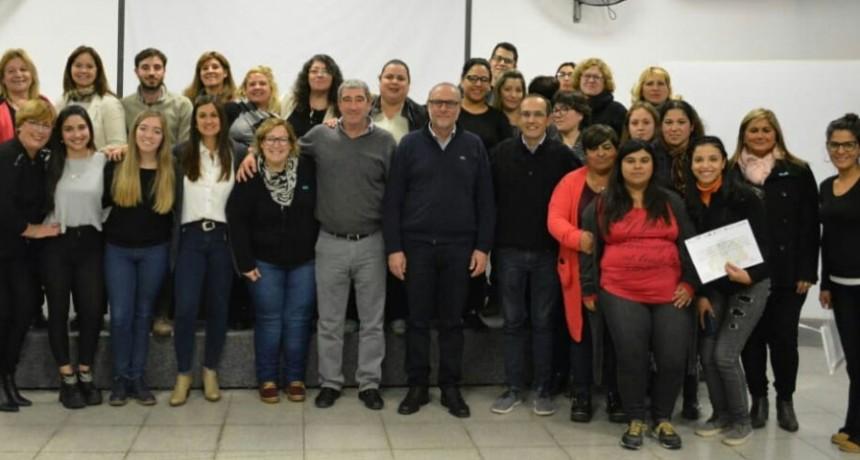 El Intendente Pisano acompañó la finalización del taller de Emprendedurismo