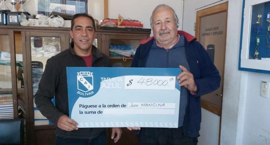 La Tarjeta Azul de Club Independiente entregó un super premio