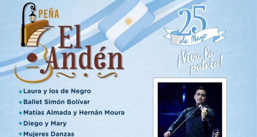Vuelve la Peña El Andén para celebrar el Día de la Patria
