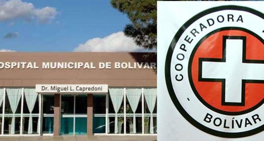 Se realizó el sorteo mensual del bono de la Cooperadora del Hospital Miguel Capredoni
