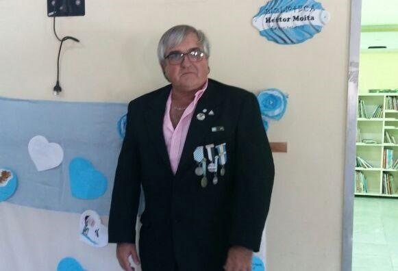 Héctor Moita; 'Cuando anunciaron que debíamos abandonar el crucero fue la noticia más triste porque ya después de tanto tiempo era como mi casa'