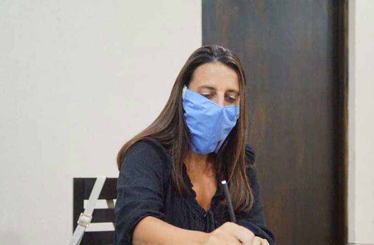 Fernanda Colombo; 'A partir de ahora la responsabilidad de seguir sin casos es compartida entre el municipio y los vecinos'