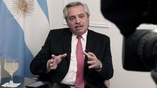 Alberto Fernández: 'A todos nos preocupa la economía pero más nos preocupa la salud de la gente'